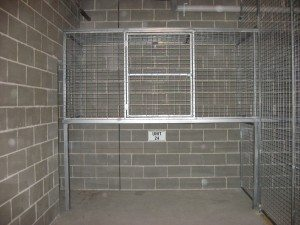 Welded Mesh Above Bonnet Storage Cages