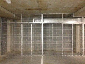 Mesh Partitions & Storage Cages